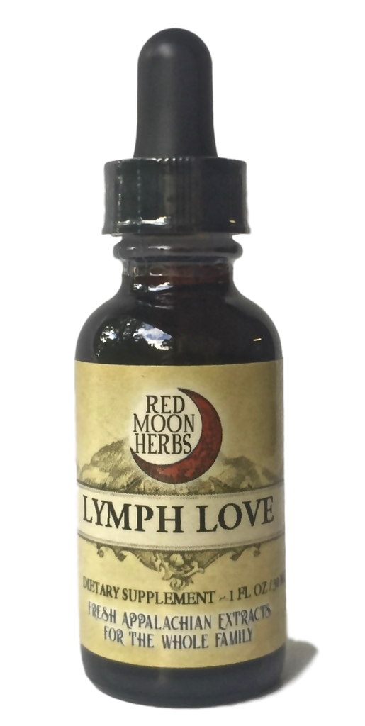 Lymph Love Herbal Extract with Calendula, Cleavers, and Violet for Immune Health