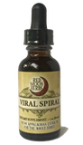 Viral Spiral Herbal Extract of Calendula, Lemon Balm, and St. John's Wort for Viruses and Immune Health