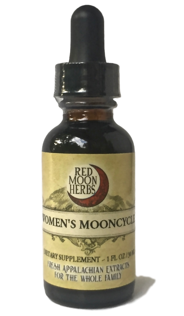 Women's Mooncycle Herbal Extract of Vitex, Dandelion, and Red Clover for Fertility, PMS, Cramps, Hormone Balance, and Women's Reproductive Health