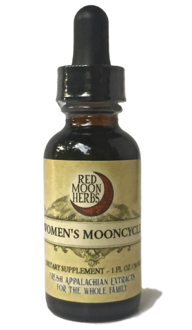 Women's Mooncycle Blend-Extracts-Red Moon Herbs