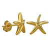 Sterling Silver Starfish Stud Earrings