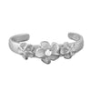 Sterling Silver 3 Plumeria Toe Ring