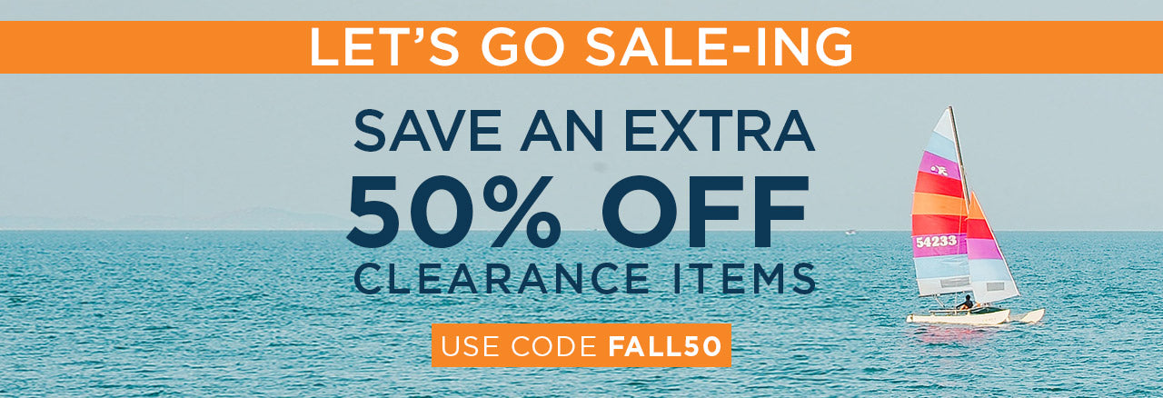 Extra 50% off Sale Items with code FALL50