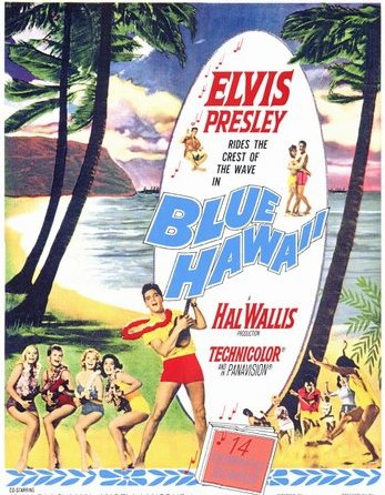 Blue Hawaii Movie Poster