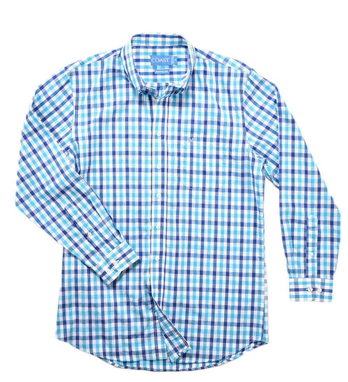 Button Down Shirt - Ocean Blue