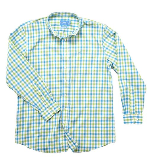 Button Down Shirt - Caribbean