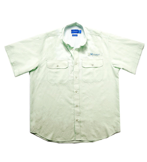 Marina Short Sleeve Fishing Shirt - Spring Mint