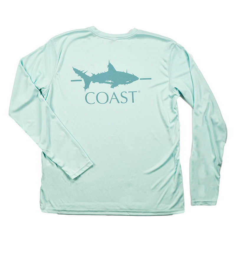 Shark - Seaglass Green Performance Shirt