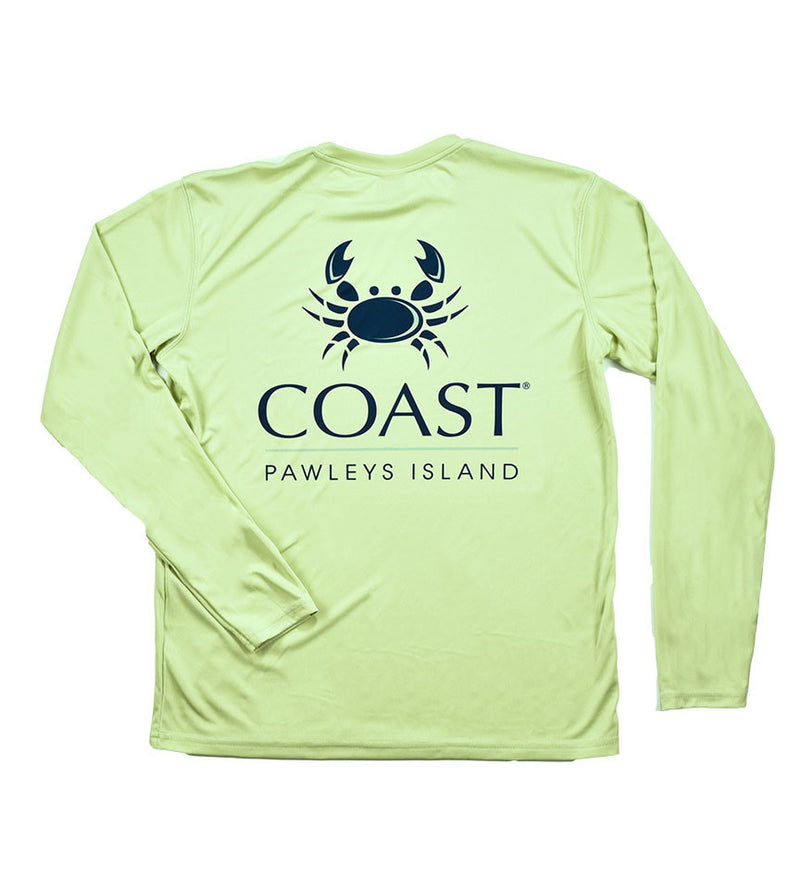 Coast Logo - Sage Performance Shirt