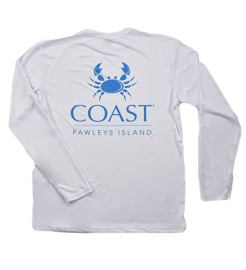 Coast Logo - White Performance Shirt