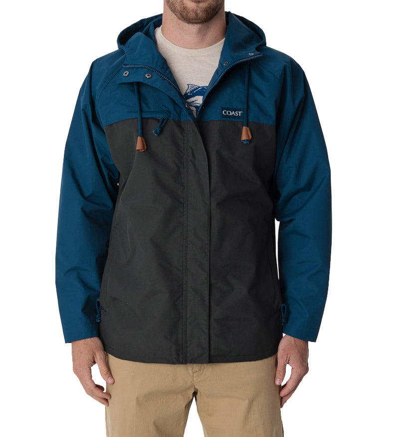 Blue and Gray Angler Jacket
