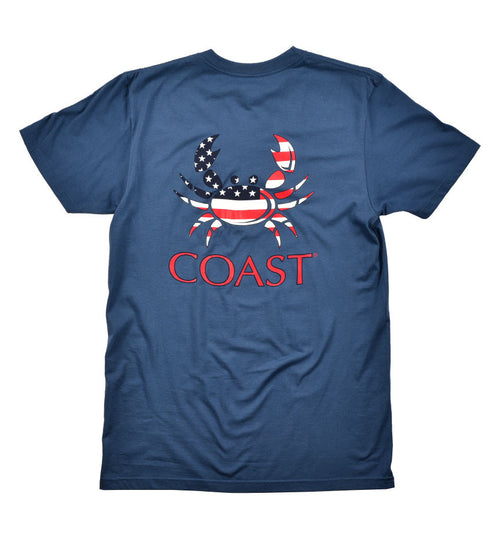American Crab Classic Tee - Navy