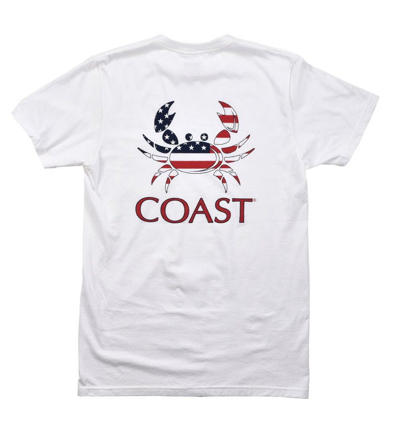American Crab -White Tee