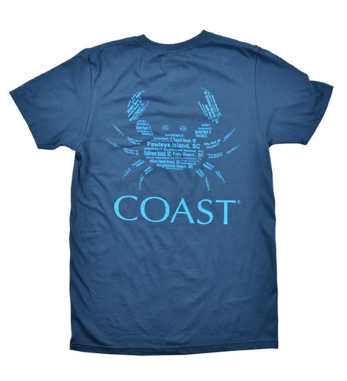 Beach Crab - Navy Tee