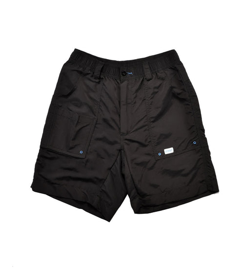 Angler Shorts - Black 8.5""