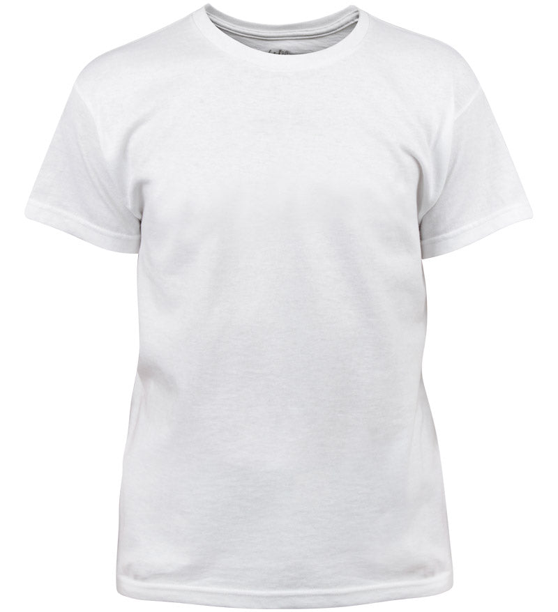 Coast Apparel Boys Solid Saltwater Tee white front