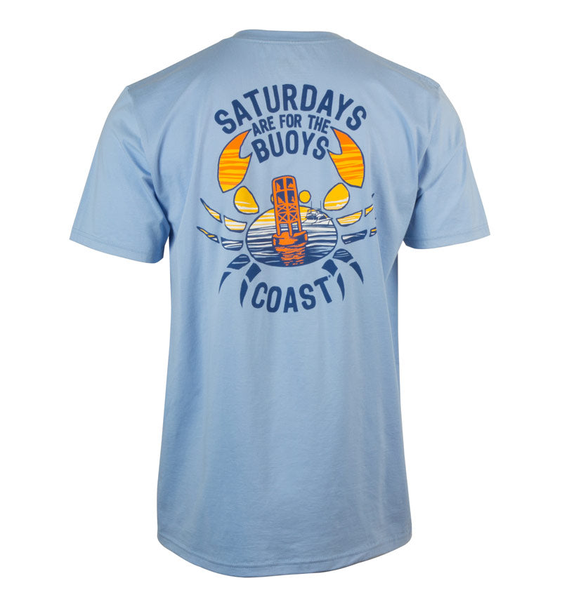 For the Buoys Classic T-Shirt - Beachwash Blue