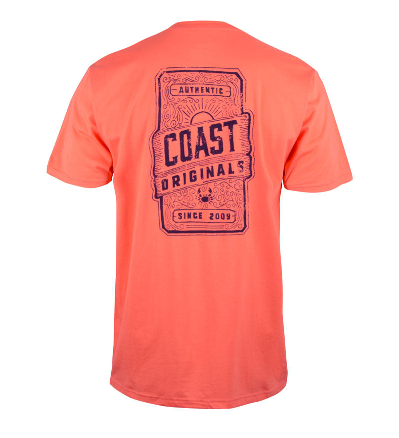 Original 09 T-Shirt - Coast Apparel Coral Reef Tee Shirt