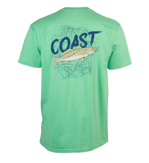 Sea Troutin Classic T-Shirt - Bermuda Green