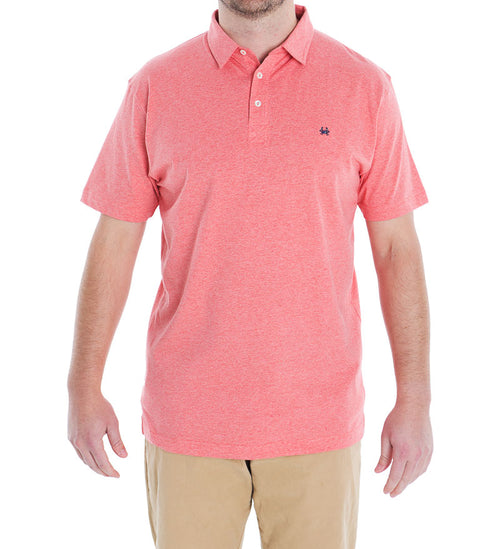 Watermelon Cotton Polo - Coast Apparel