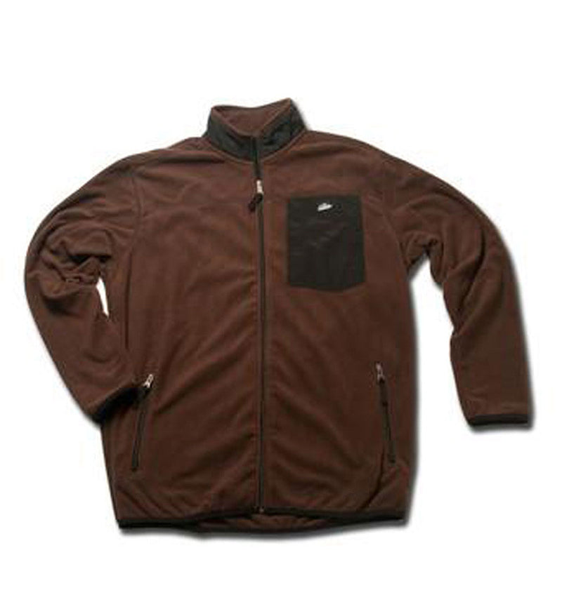 Men's Fleece Jacket - Chocolate