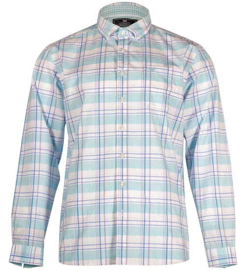 Coast Apparel Spring Anchor Woven Button Down breaker front