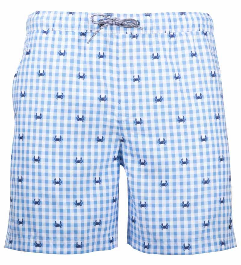 Coast Apparel Crab Volley Shorts caspia front
