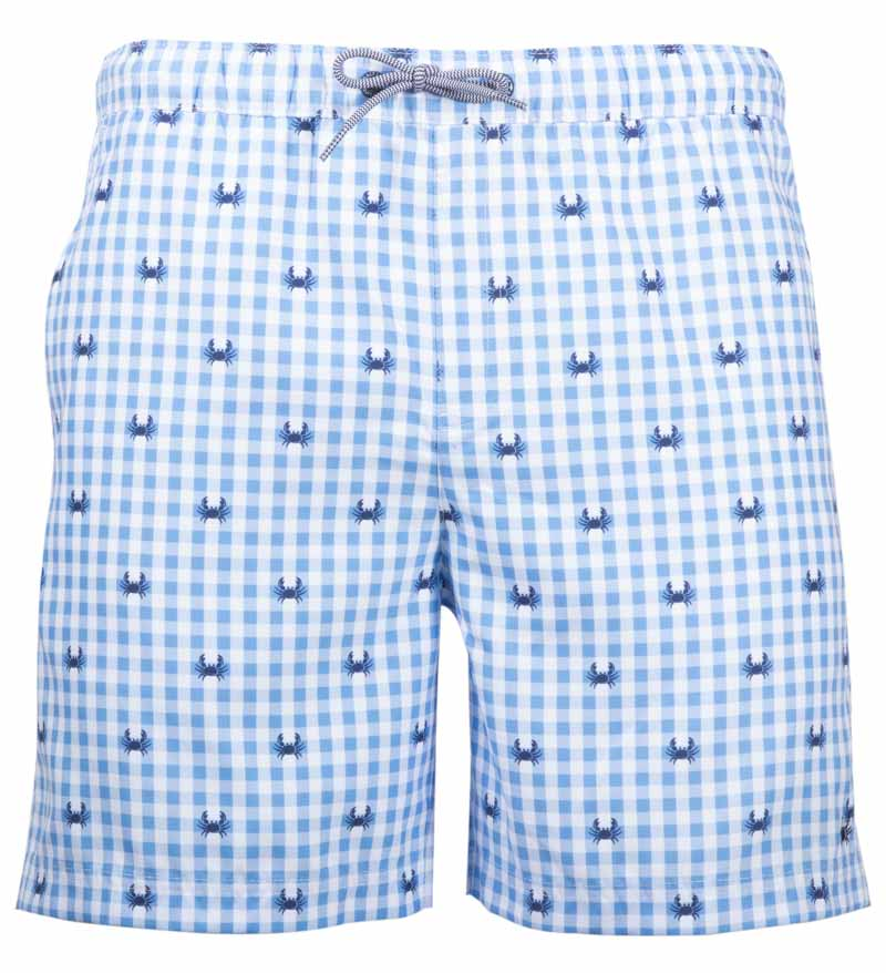 Coast Apparel Boy's Crab Volley Shorts caspia front