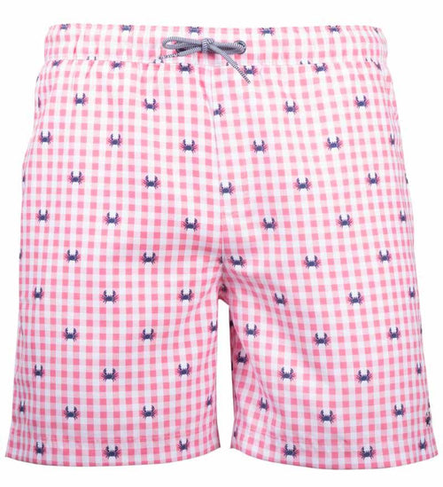 Coast Apparel Crab Volley Shorts watermelon front