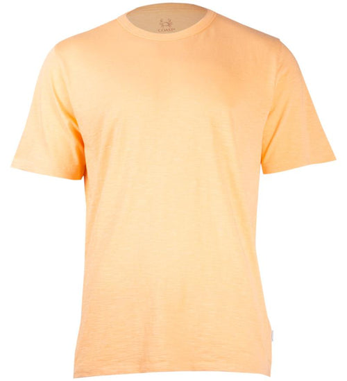 Coast Apparel Solid Saltwater Tee coral front