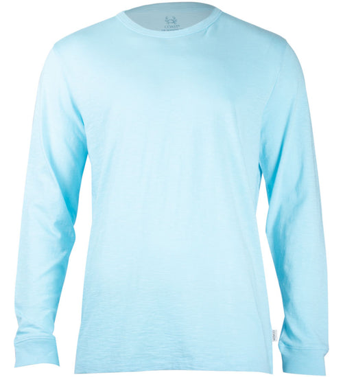 Coast Apparel Solid Seashore Long Sleeve Tee breaker front