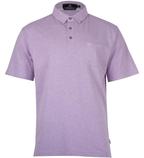 Coast Apparel Skipper Polo aster heather front