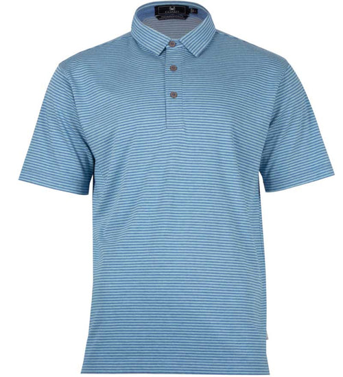 Coast Apparel Spring Slipknot Polo caspia heather