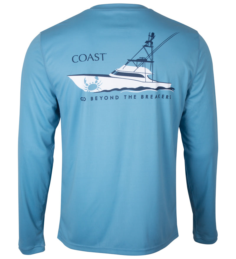beyond the breakers boat performance shirt