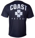 Coast performance short sleeve tee
