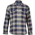 Waterfront Flannel Button Down - Palmetto