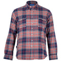 Waterfront Flannel Button Down - Redbud