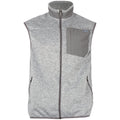 Fireside Fleece Vest - Heather Grey
