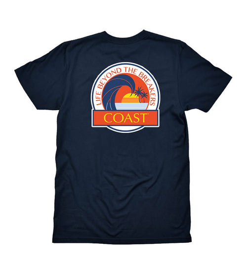 Life Beyond the Sunset - Navy Tee