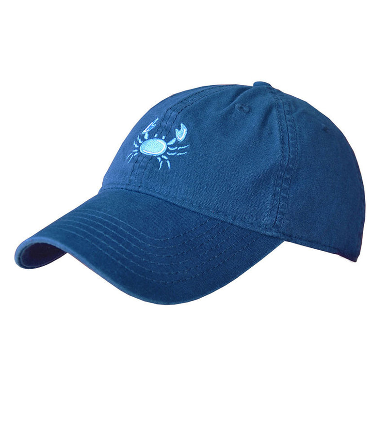 Hat- Navy Crab Logo