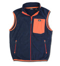 Men's Fleece Vest - Navy