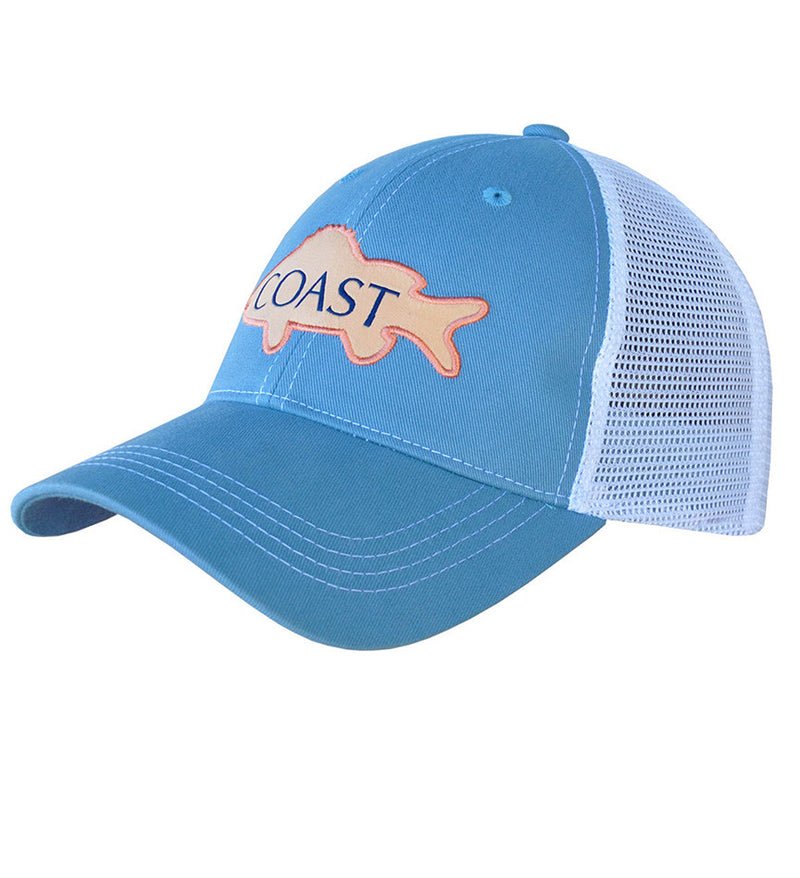 Trucker Hat - Pink Fish