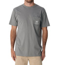 Red Drum Classic Tee - Hurricane Grey
