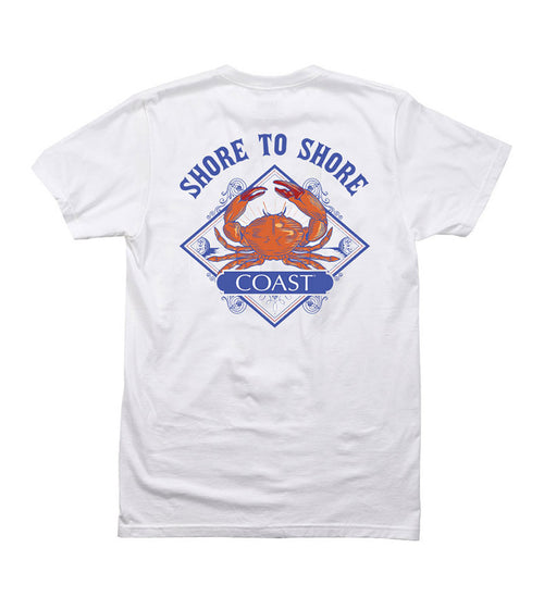 Shore to Shore - White Tee