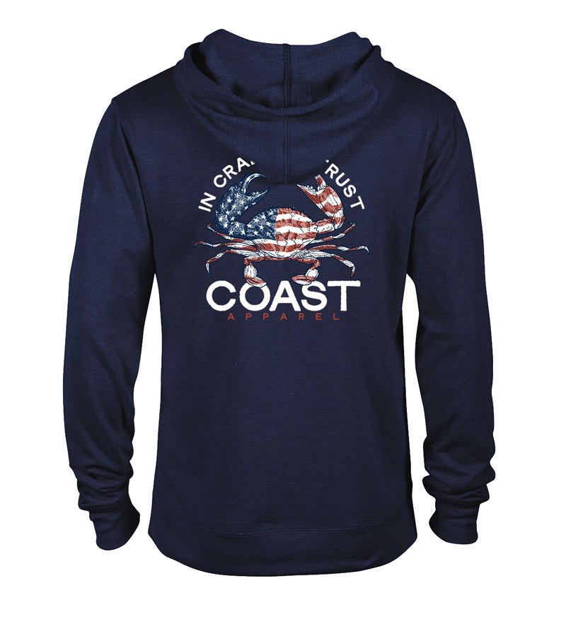 In Crab We Trust Hoodie Pullover