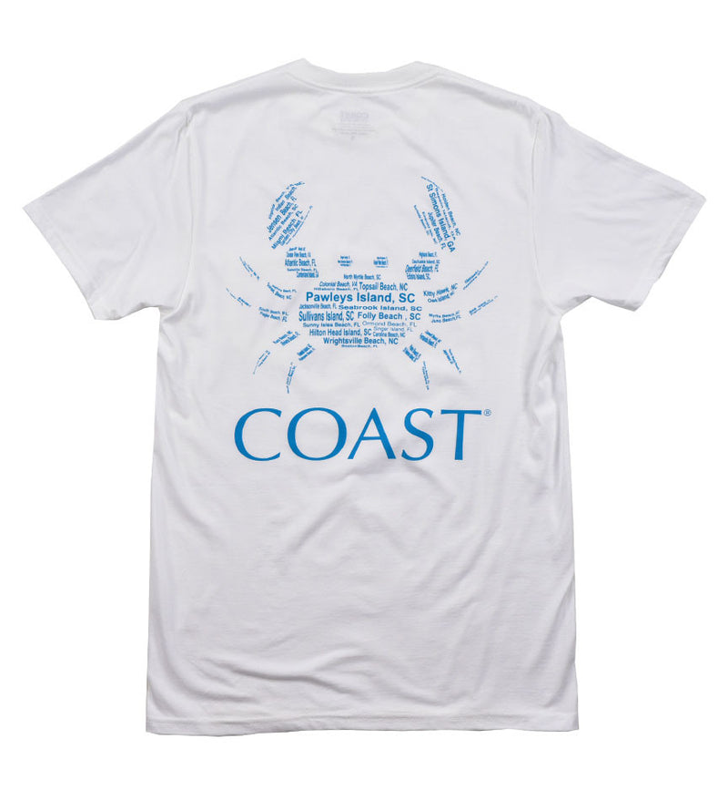 Beach Crab - White Tee