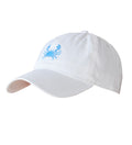 Hat- White Crab Logo