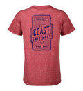 Coast Original Youth T-Shirt with screen print on back