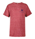 Youth Original 09 Tee - Red Heather