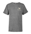 Youth Red Drum Tee - Graphite Heather